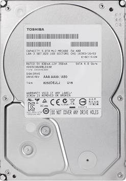 Toshiba MD-Series 6TB, SATA 6Gb/s (PX3013E-1HR0) für 214,85€ @Zack Zack