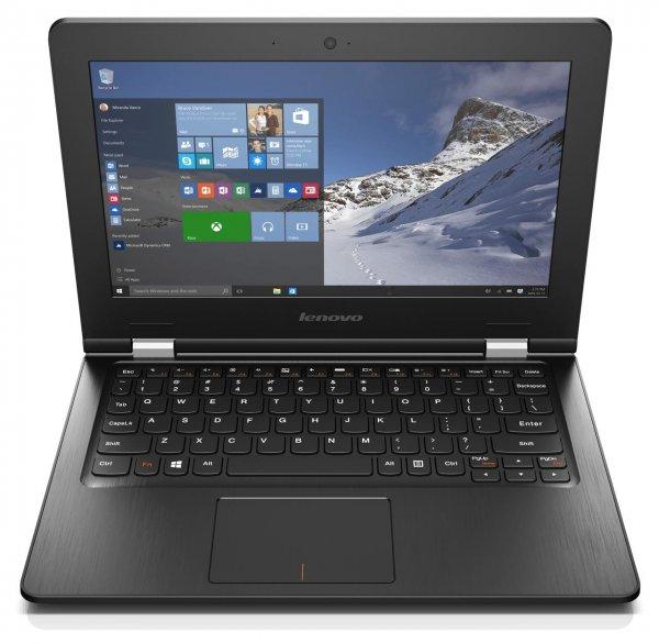 Lenovo Ideapad 300S-11IBR 80KU001PGE Notebook in schwarz (11,6 Zoll) für 222,00€ frei Haus [Comtech]