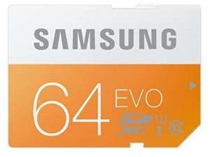 (Media Markt) Samsung EVO Micro-SD 64 GB Class 10 inklusive Adapter 15€