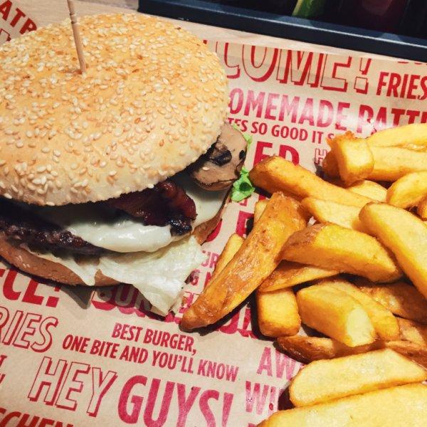 BURGERISTA Abwrackprämie - beliebigen Burger vorzeigen und einen Burger gratis (Normalpreis des teuersten Burgers:über 13€)