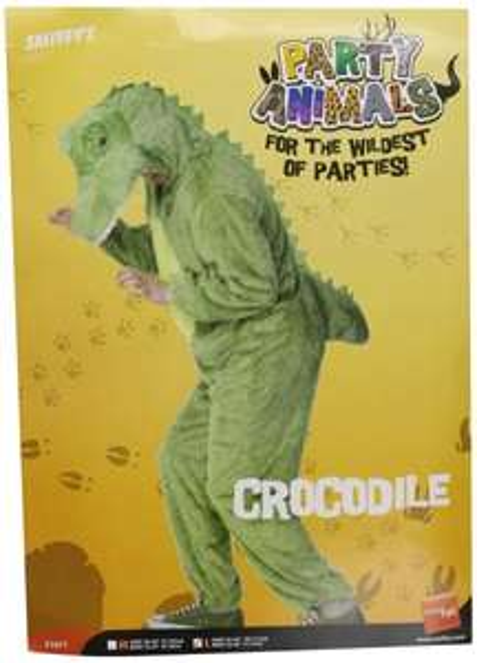[AMAZON PLUS] MyDealz - Krokodil Kostüm mit Jumpsuit & Kapuze, L - 5,35 Euro