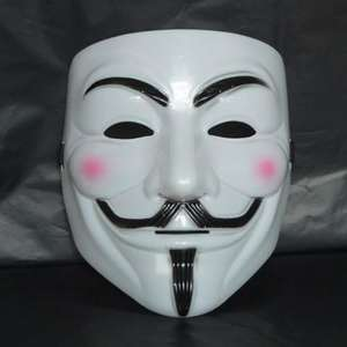 Guy Fawkes - V wie Vendetta - Maske für 4,53€ @ ebay
