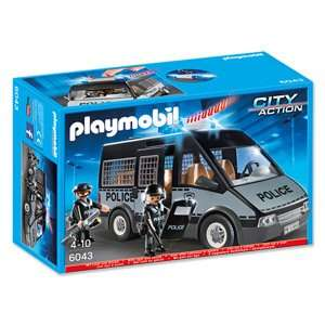 Real - Playmobil Polizei Mannschaftswagen 6043 mit Licht und Sound - offline und evtl online