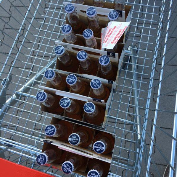 Corona Bier 6er Träger für 1,37€ inkl. Pfand bei etlichen Penny's. 83% unter Angebotspreis