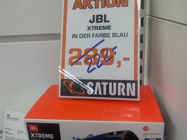 [LOKAL - Saturn Wiesbaden] JBL Xtreme FARBE BLAU - Bluetooth-Lautsprecher (Bluetooth 4.1, spritzwasserfest, bis zu 15 Std. Akku) für 222,-