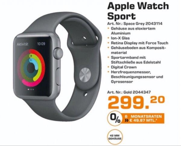 Apple Watch Sport 42mm Gehäuse