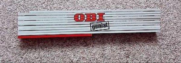 Zollstock oder Hammer bei Obi umsonst