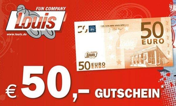 Louis Motorradzubehör 50€ Aktion