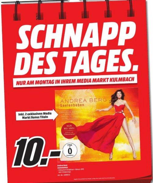 **Schlagerspecialdeal**[Lokal Mediamarkt Kulmbach) Tagesangebot am 11.04....Andrea Berg - Seelenbeben für 10,-€