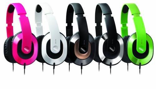 Amazon/ebay 9,99/9,95€ overear Bügel-Kopfhörer von Creativ in schwarz o. feschem grün