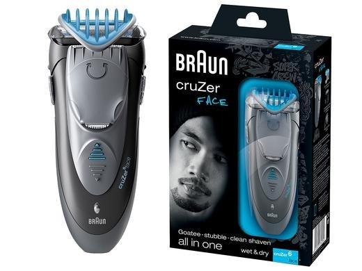 Braun cruZer 6 Face Haar- und Barttrimmer bei Ibood