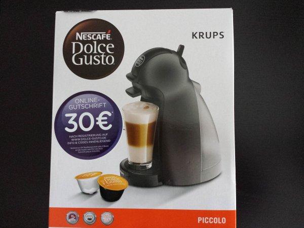 [Kaufland] Krups Nescafé Dolce Gusto Piccolo KP 100B, 18,74€, Lokal