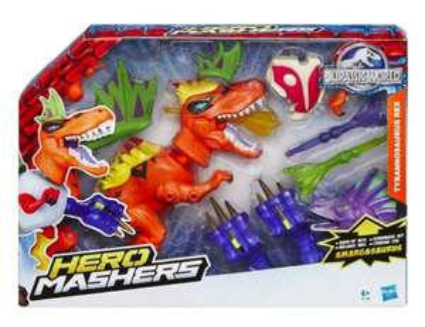 [Amazon Prime] Hasbro B1198EU4 Jurassic World Hero Mashers T-Rex Dino Pack für 6,58€ statt ca. 17€