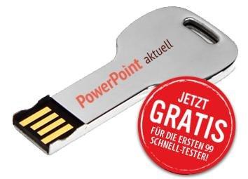 """""""PowerPoint Schlüssel"""" USB Stick 3.0"""