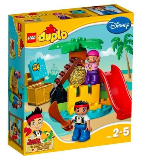 [Amazon Prime] LEGO 10604 - Duplo: Jake und die Nimmerland-Piraten - Schatzinsel (EOL) für 8,79€ statt ca. 20€