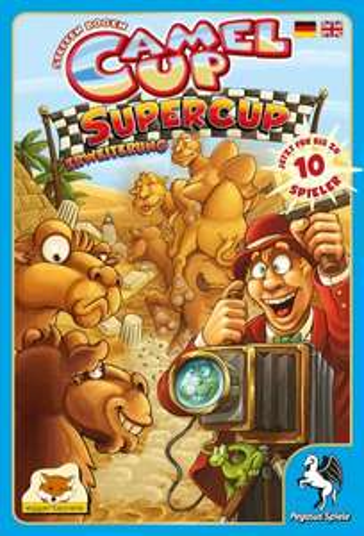 Camel Up Supercup (Brettspiel, Erweiterung, amazon.de)