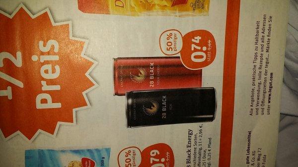 [OFFLINE-BUNDESWEIT] 28 Black Energy Drink Acai oder Sour Cherry ab 15.04. @Tegut für 0.74€