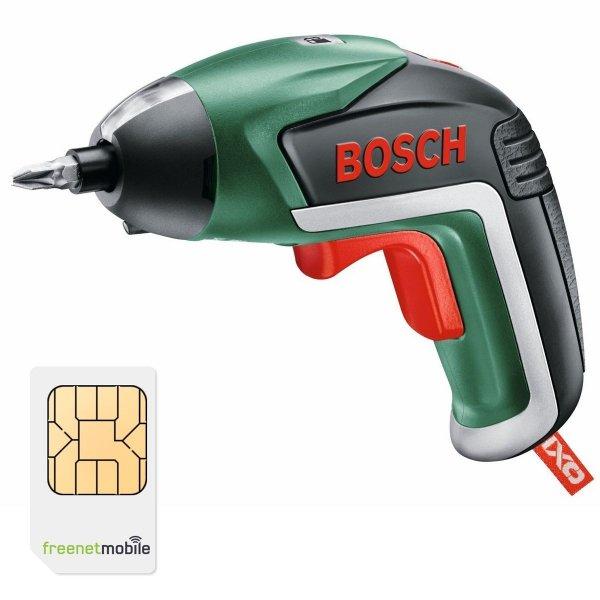 freenetMobile DUO SIM-Karten mit Bosch IXO V Akku-Schrauber für 3,90€