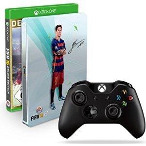 [Amazon] Xbox One Wireless Controller 2015 + FIFA 16 - Deluxe Edition inkl. Steelbook - [Xbox One] für 59,97€ oder Fifa 16 Steelbook einzeln für 29,97€