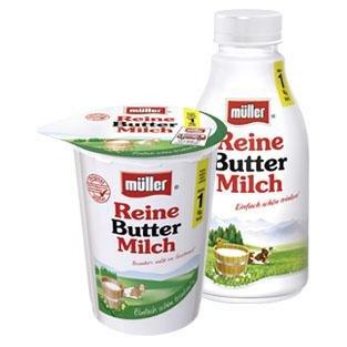 [TEGUT] Müller Reine Buttermilch 500g für 0,35€