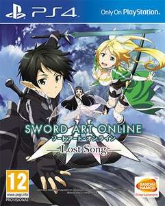 [game.co.uk] Sword Art Online: Lost Song - Playstation 4 - für 24,86€ inkl. VSK