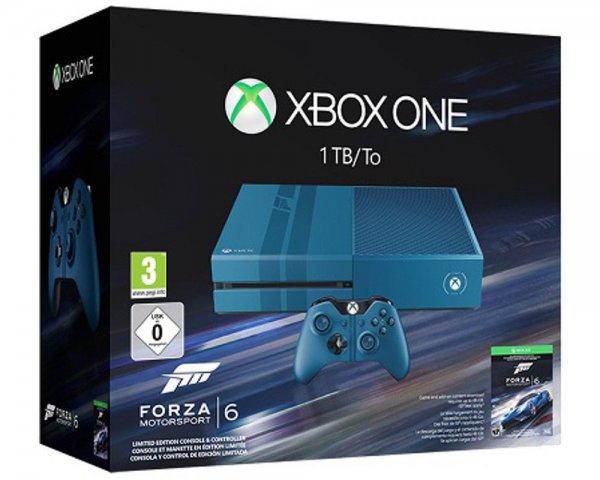 [ebay] [Media Markt Landshut] Microsoft Xbox One 1TB Forza Motorsport 6 Limited Edition 299 €