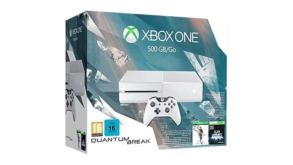 [Microsoft Store Frankreich] Xbox One 500 Go Edition + Quantum Break + Alan Wake + 2. Controller für 319€