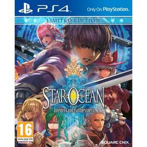 [shop4de.com] Vorbestellung: Star Ocean Integrity and Faithlessness - Limited Edition - PS4 - 49,98€, PVG: 59,99€ (-17%)
