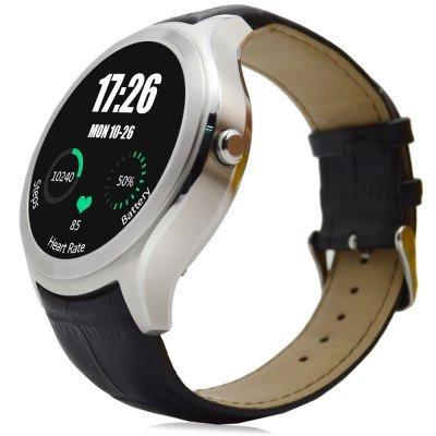 No.1 D5 Smartwatch (Android 4.4, GPS, rund) [CN] [93,21€/110,92€]