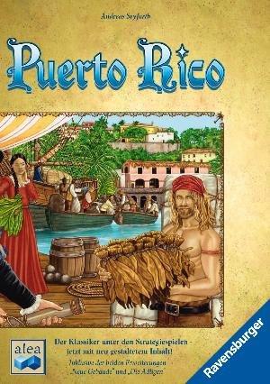 Puerto Rico - Brettspiel (Neuauflage 2014) - BoardGameGeek #5 [thalia.de]