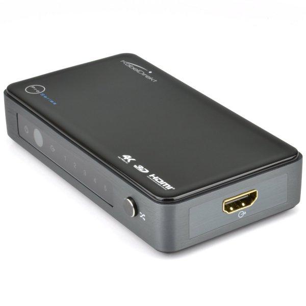KabelDirekt 4K HDMI Switch 5 x 1@Amazon