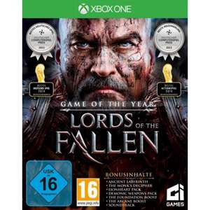 (Conrad Filiale) Lords of the Fallen: Game of the Year Edition (Xbox One) für 14,54€