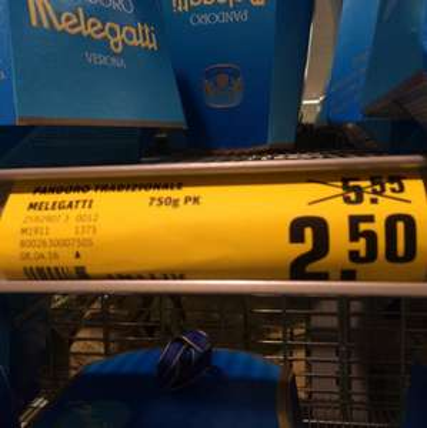 [Standa Köln] Pandoro Melegatti Kuchen für 2,50€ statt 5,55€