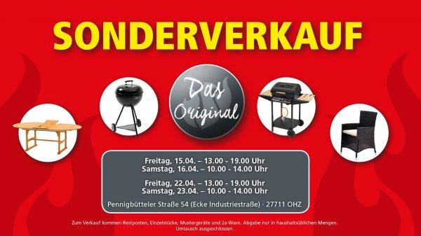 Landmann Sonderverkauf ab 15.04.2016, lokal in Osterholz-Scharmbeck