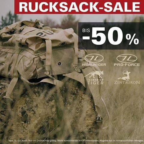 Rucksack Sale bei ASMC.de (z.B. Fjällräven No.21 Large für 148,22 ~25% unter Idealo)