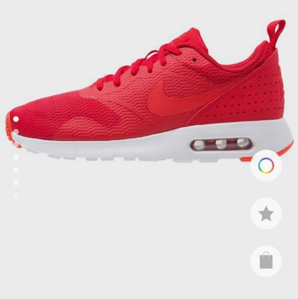 Nike Air Tavas (rot/weiß) @ zalando