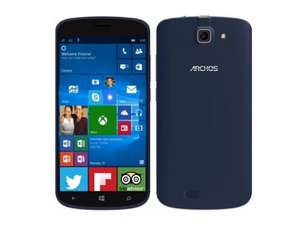 [Cyberport] Archos 50 Cesium LTE + Dual-SIM Windows Phone (5'' HD IPS, Snapdragon 210 Quadcore, 1GB RAM, 8GB intern, 8MP + 2MP Kamera, kein Hybrid-Slot, 2100 mAh, Windows 10 Mobile) ab 99,99€