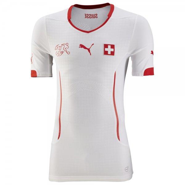 Puma Schweiz Spieler-Trikot ACTV Fit Herren Auswärtstrikot - 19,95€