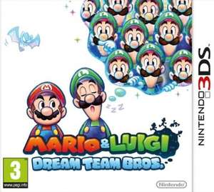 [shopto.net] Mario and Luigi Dream Team Bros. / Mario Golf World Tour [3DS] für je 19,87€ inkl. Versand