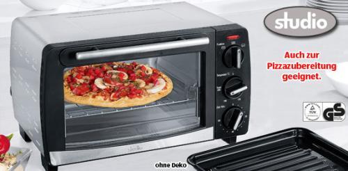 [OFFLINE] ALDI SÜD - STUDIO® Mini-Backofen (Pizzaofen) für 25,99 Euro