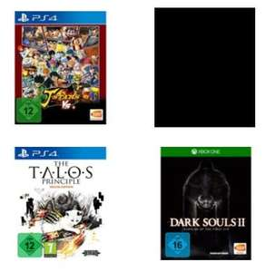 [Lokal Saturn Köln Porz] Dark Souls 2: Scholar of the First Sin (Xbox One) oder The Talos Principle: Deluxe Edition (PS4)  für je 5,-€***J-stars Vic­to­ry Vs+[ PS4] für 10,-€