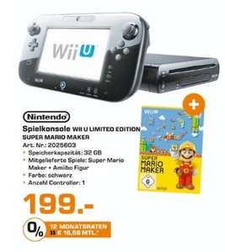 [Lokal Saturn Osnabrück ab Donnerstag] Nintendo Wii U Super Mario Maker Premium Pack Limited Edition für 199,-€