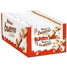 [ amazon ] 30er Pack (30 x 2 Riegel Packung) Kinder Bueno für 11,18 €
