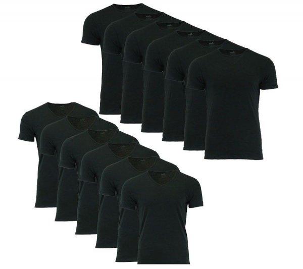 [ eBay ] wow Angebot: 6er Pack PUMA Basic Shirt Herren T-Shirt Jersey Schwarz 2-Modelle für 29.99 €