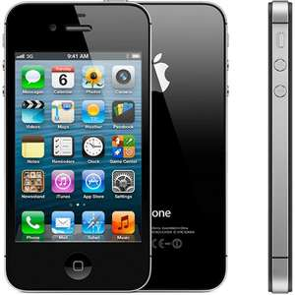 [ibood] Apple iPhone 4S Smartphone (8,9 cm (3,5 Zoll) Touchscreen Display, 8 Megapixel Kamera, 32GB, UMTS, iOS 5) weiß, schwarz - neu für 145,9€