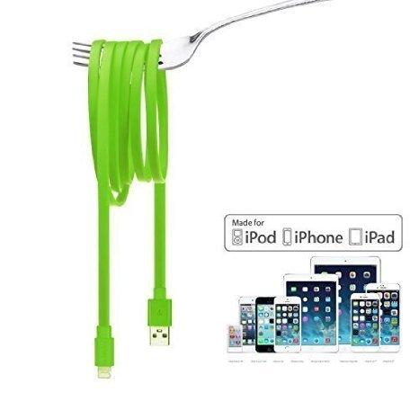 [AMAZON] Letouch 1,5m Lightning Flachte Nudel Ladekabel Sync & Charge USB Datenkabel für Apple Produkte für 7,99€ statt 9,99€