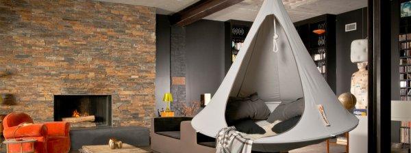 Der Sommer kommt: Hochertiger Design-Hängesessel von Cacoon zum relaxen für 209 €, PVG 274 € (- 10 € Shopguthaben, ggf. 9% qipu) bei Connox