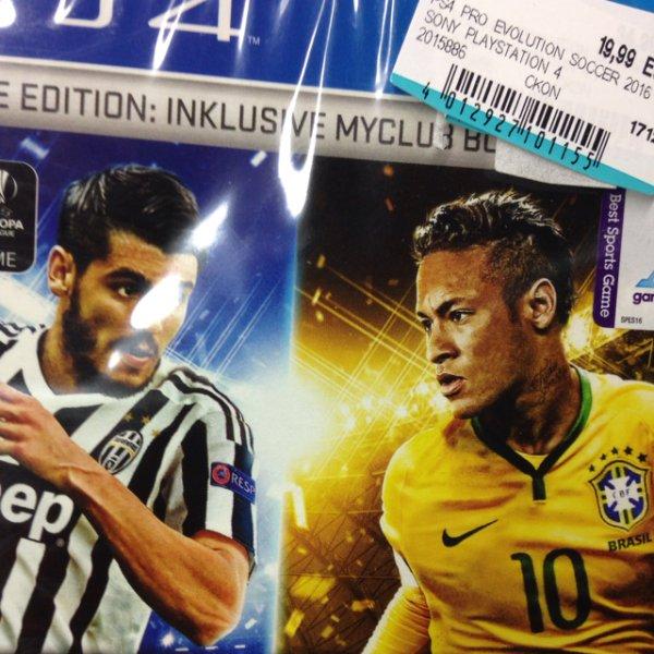 PES 2016 PS4 oder Xbox One für 19,90