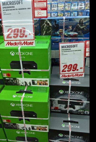 Xbox One 1 TB verschiedene Bundle Lokal Media Markt Neu Ulm