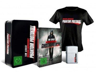 [MediaDealer] Mission: Impossible - Phantom Protokoll - Steelbook Collector's Edition inkl. Zippo + T-Shirt Größe L (Blu-ray) für 26,98€ inc Versand
